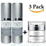 Retinol Cream & Vitamin C Anti Aging Skin Care Set for Women Beauty Gifts. Get Your 3 pc Set Vitamin C Serum with Hyaluronic Acid & Retinol Correction Cream for Night & Day