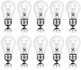 10 x Light Bulb 60 W E27 Clear Light Bulb 60 Watt bulb