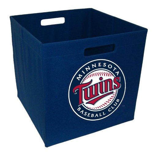 (MLB Minnesota Twins 12-Inch Storage Cube)
