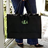 Cathys Concepts 2073 Damask Fabric Tote Bag, Bags Central