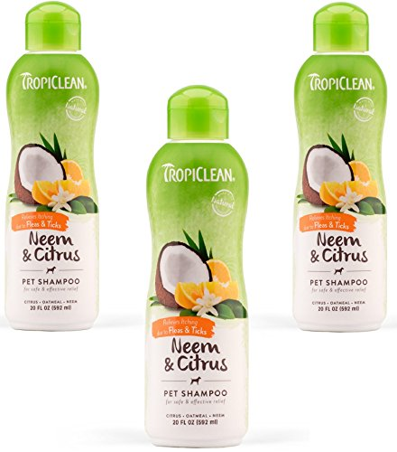 Tropiclean Allergenic Citrus Shampoo Ounce product image