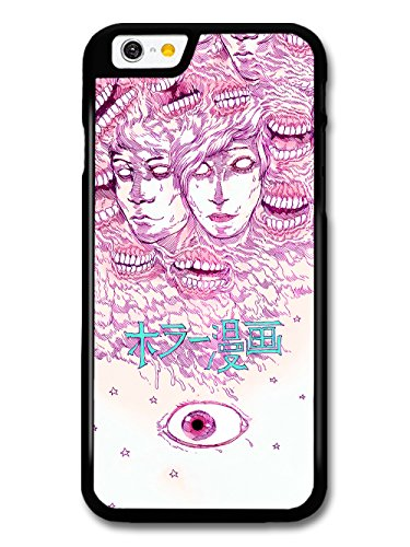 Cool Horror Comic Japanese Manga Design with Creepy Eye case for iPhone 6 6S