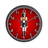 CafePress – Nutcrackers Wall Clock – Unique Decorative 10″ Wall Clock For Sale