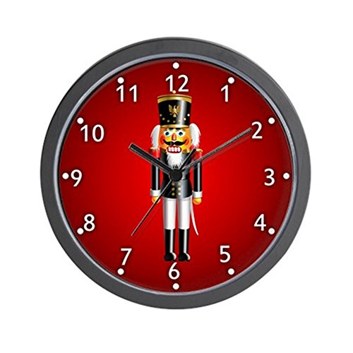 CafePress Nutcrackers Clock Unique Decorative