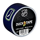 Duck Brand 282106 Vancouver Canucks NHL Team Logo Duct Tape, 1.88-Inch by 10-Yard, 1-Pack
