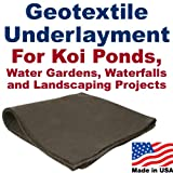 25' x 25' Geotextile Underlayment & Landscape Fabric