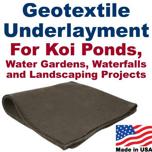 20' x 20' Geotextile Underlayment & Landscape Fabric by PatriotGuard
