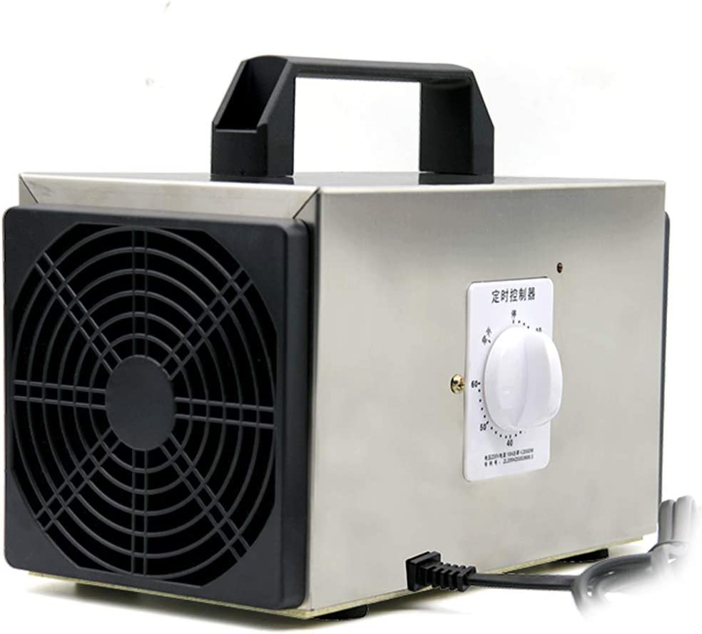 GXFC Generador de ozono para Coche DC 12V Purificador de Aire para el hogar con Cable para Encendedor de Cigarrillos