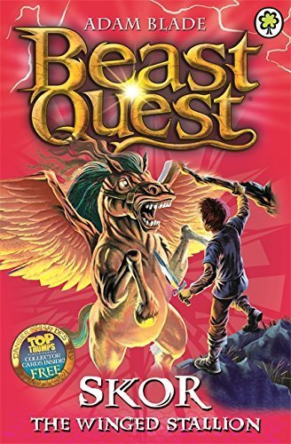 Beast Quest: 14: Skor the Winged Stallion by Adam Blade (2015-06-04) (Beast Quest 14)