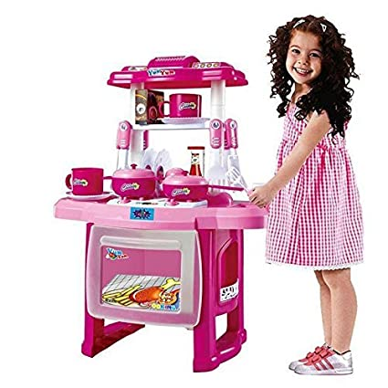 Buy Ote Kitchen Set Toys For Kids Kitchen Play Set Big Size For Girl