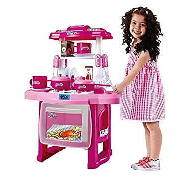 Buy Ote Kitchen Set Toys For Kids Kitchen Play Set Big Size For Girl Kitchen Playset For Kids Online At Low Prices In India Amazon In