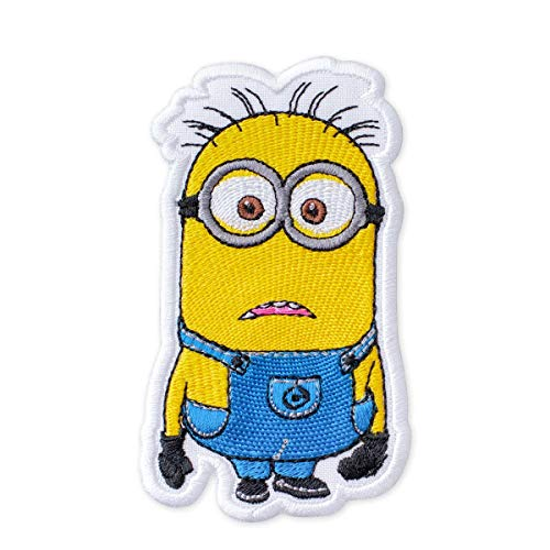 Despicable Me Minion Confused Phil Embroidered Patch Iron On (2.4
