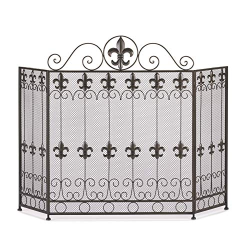 VERDUGO GIFT CO French Revival Fireplace - Design Screen Tuscan Fireplace