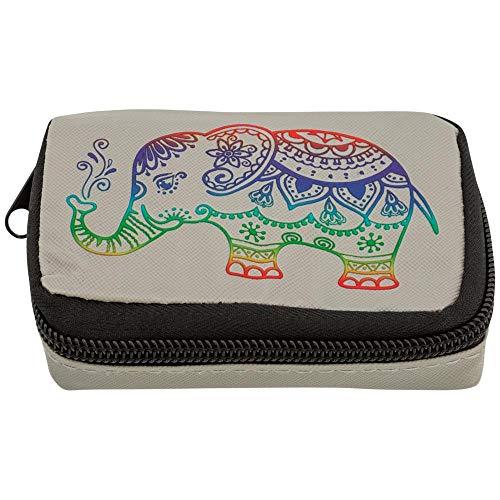 (Batik Elephant Deluxe Pill Box)