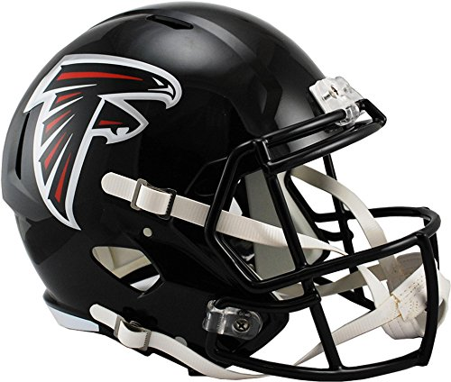 (Sports Memorabilia Riddell Atlanta Falcons Revolution Speed Full-Size Replica Football Helmet - NFL Replica Helmets)