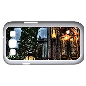 452 W.44th street nyc hdr (Houses Series) Watercolor style - Case Cover For Samsung Galaxy S3 i9300 (White)