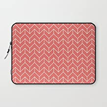"""T18ager Laptop sleeve 10 inch, Chevron Neoprene Barricade 9.7"""" 10"""" 10.1"""" 10.2"""" Tablet Laptop Sleeve Case Bag Cover for Apple /Ipad/ Samsung /Nexus Google/Android Tablet Notebook Computer"""