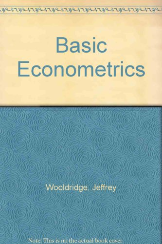 Basic Econometrics Gujarati 5th Edition Pdf