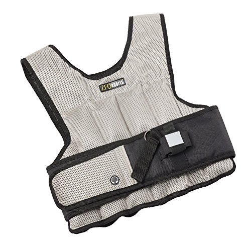 ZFOsports® - 20LBS -UNISEX- Comfortable Exercise Adjustable Weighted Vest (Best Weighted Vest Exercises)