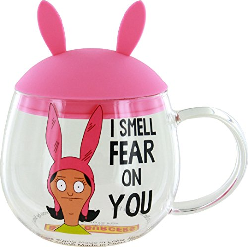 Bob's Burgers Louise Glass Mug with Removable Ears]()