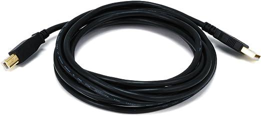 CNE608532 C/&E 4 PCS USB 2.0 A Male to A Male 28 OR 24AWG Cable Gold Plated White 10 Feet