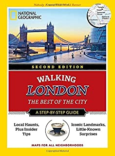 Book Cover: National Geographic Walking London, 2nd Edition: The Best of the City