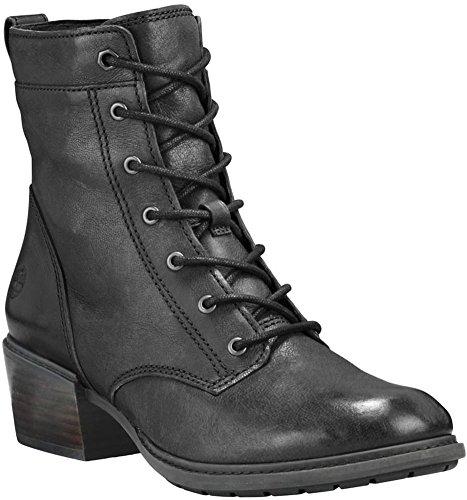 - Timberland Women's Sutherlin Bay Mid Lace Boot Black Full Grain 11 B US