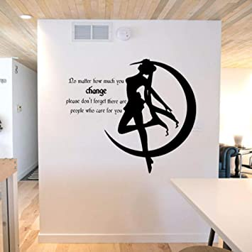 People Who Care Wall Sticker Sailor Moon Window Vinyl Wall Decal