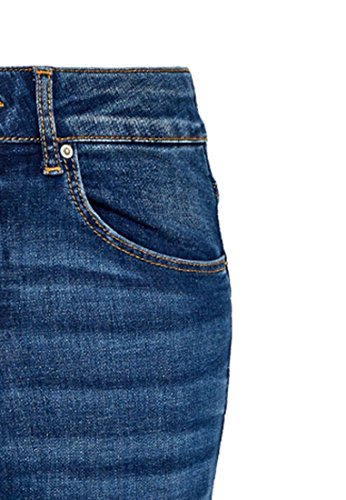 Denim Taille Slim Moyen Blue Jean Haute Hallhuber Ella 1708T7q