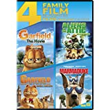 Garfield The Movie /  Garfield A Tail of Two Kitties / Aliens In The Attic / Marmaduke