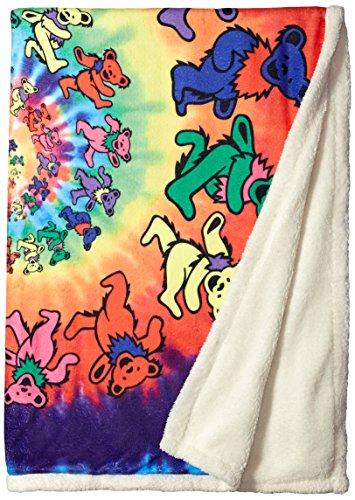 81002 Spiral Bears Blanket