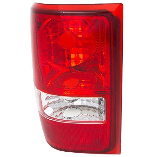 CarPartsDepot Rear Bumper Brake Light Lamp Left Side Fit 06-11 Ford Ranger Pickup FO2818121