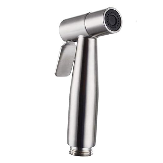 Yooap cabezal de pulverizador de mano para inodoro, de acero ...