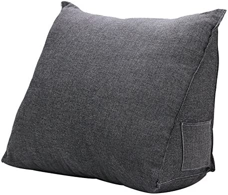 Read Lounge or Work In Bed Support Cushion Mystery&Melody Comfort Reading Pillow Stuffed Back Pillow Washable Cover Sturdy Arm Supports Animal, L