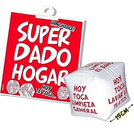 DADO HINCHABLE HOGAR 15CM: Amazon.es: Electrónica