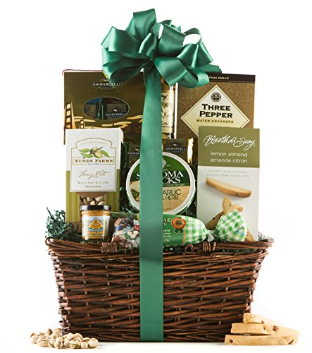 Wine.com Gourmet Treasures Gift Basket