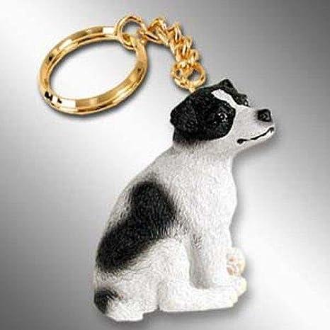 Amazon.com: Jack Russell Terrier, llavero para perro, suave ...