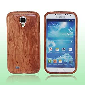 LeexGroup® Fashion Luxury Rose Wood Case Cover For Samsung Galaxy S4 IV i9500 Hard Wood Shell Back Skin