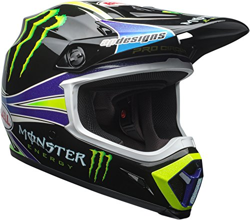 Bell MX-9 MIPS Off-Road Motorcycle Helmet (Pro Circuit Replica 18.0 Gloss, Large)