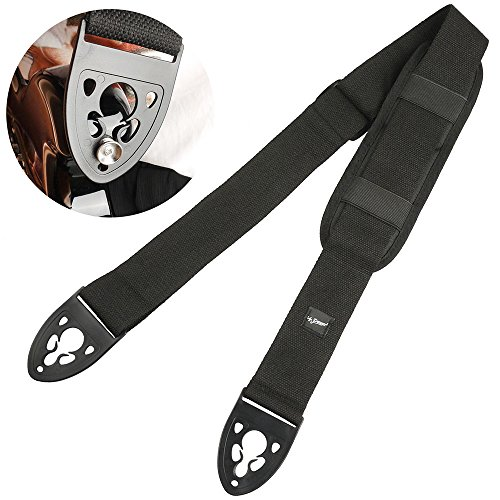 (Guitar Strap for Electric Guitar Bass with Quick Lock and Shoulder Pad)