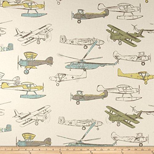 Premier Prints Vintage Air Formica Fabric By The (Vintage Print Fabrics)