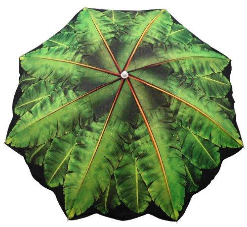 6.5' Banana Leaf Beach Umbrella