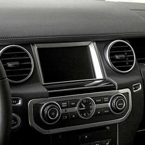 ランドローバーディスカバリー 4 2010-2016 ABS マット ナビゲーション スクリーン デコレーション カバートリム Autozone