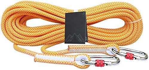YMS- 安全ロープ、10.5ミリメートル/ 12ミリメートル/ 14ミリメートルクライミングロープ高所作業の安全ロープ屋外救助ロープ保護ロープ // (Color : 14mm, Size : 100m)