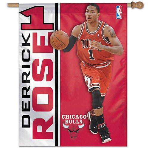 NBA Banner Flag Player: Derrick Rose