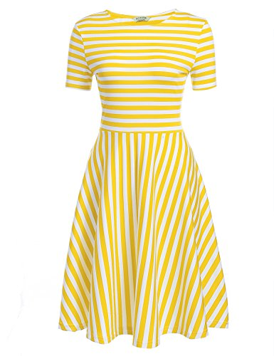 Buy yellow summer dresses - 6