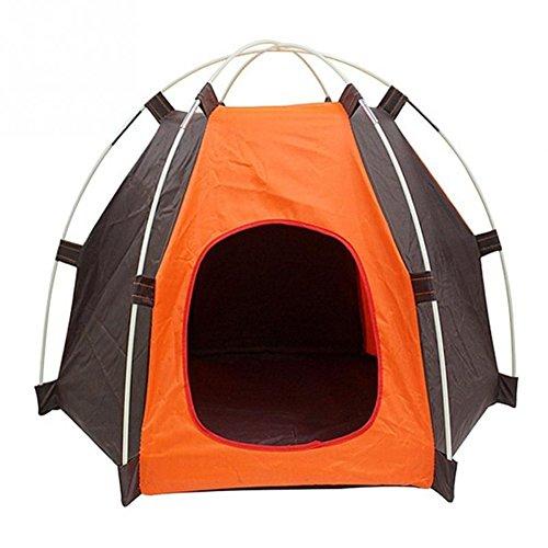 MARBOL Portable Folding Dog Pet House Bed Tent Waterproof Cat Indoor Outdoor Teepee