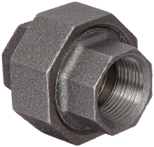 Anvil 8700163606, Malleable Iron Pipe Fitting, Union, 1-1/2