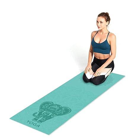 Blentude - Esterilla de Yoga de Secado rápido, Doble Cara ...