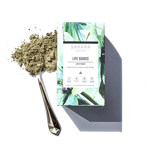 Life Source Super Powder W 12G Plant Protein  Greens  Digestive Enzymes 10Pk